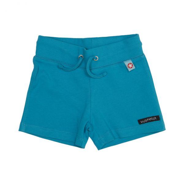 VILLERVALLA Soft tricot shorts SKY