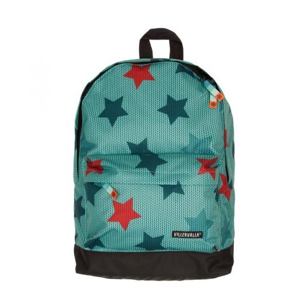 Villervalla Rucksack Knitted Star Print bay one size junior 12 L