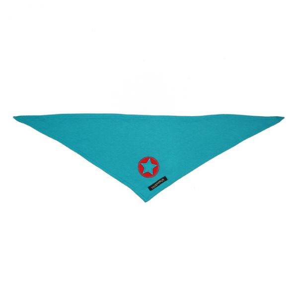 VILLERVALLA scarf SOLID PETROL