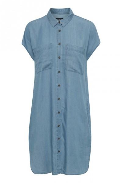 Soaked Kleid Kesia Samira medium blue denim