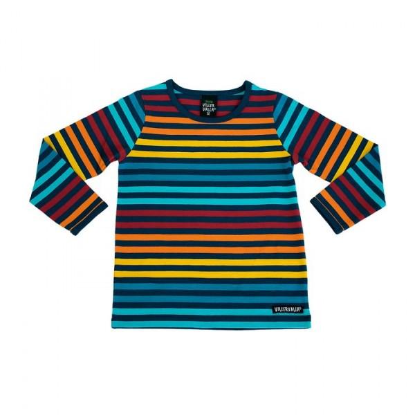 Villervalla langärmliges Tshirt marina