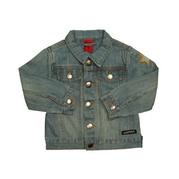 VILLERVALLA classic jacket INDIGO DENIM