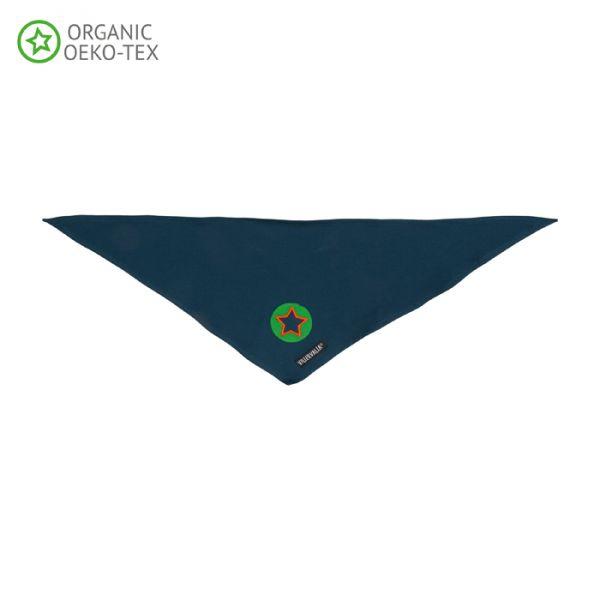 Villervalla Soft trikot scarf indigo