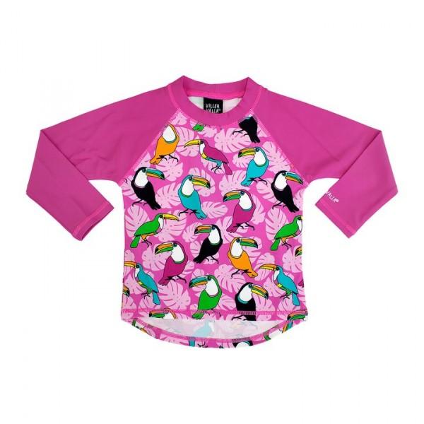Villervalla UV-Shirt petunia mit 50+ Schutz