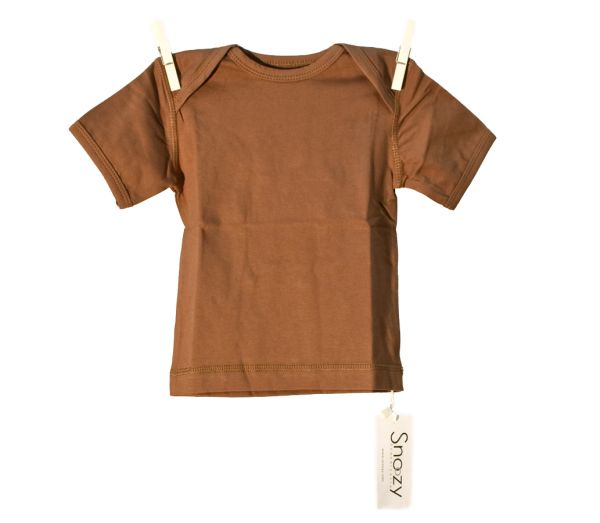Snoozy SS T-Shirt - Brown