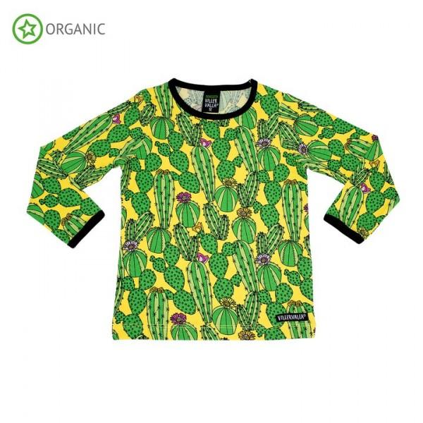 Villervalla langärmliges T-shirt Cactus