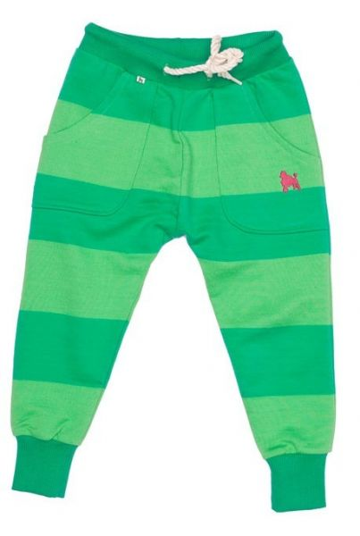 Shampoodle Lucky Joggers Green stripe