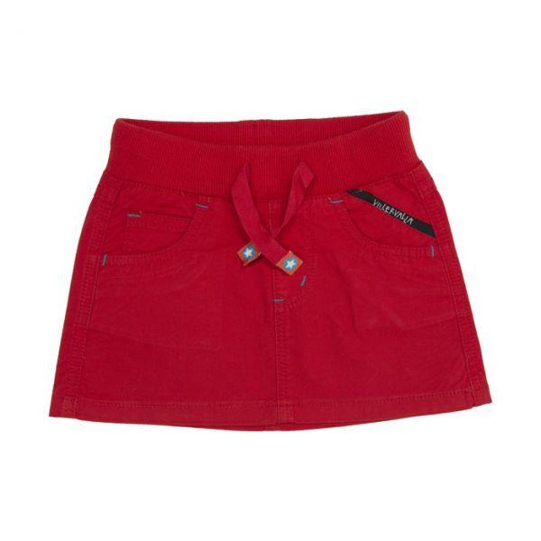 VILLERVALLA Canvas skirt CORAL