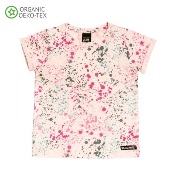 Villervalla Kurzarm T-shirt rose