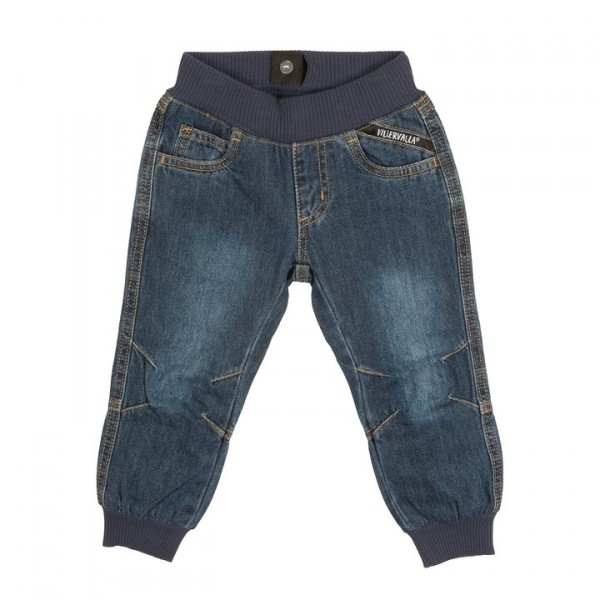 Villervalla Jeans midnight wash gefüttert