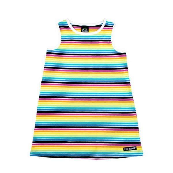 Villervalla kurzärmliges Kleid rainbow