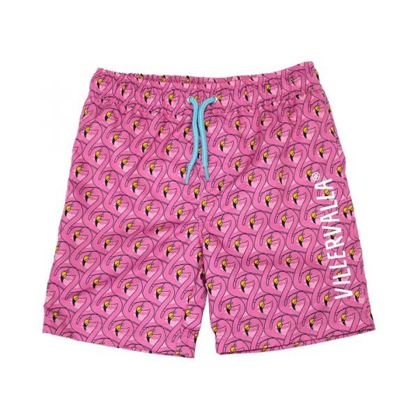 Villervalla Badeshorts flamingo