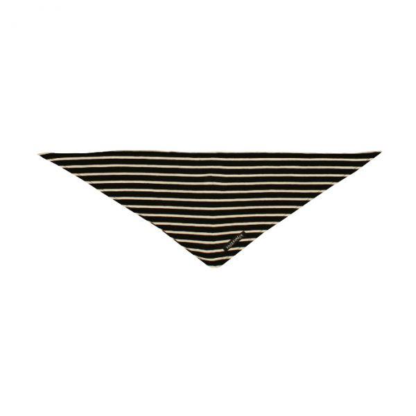 VILLERVALLA scarf BLACK/MARBLE - Größe: one size