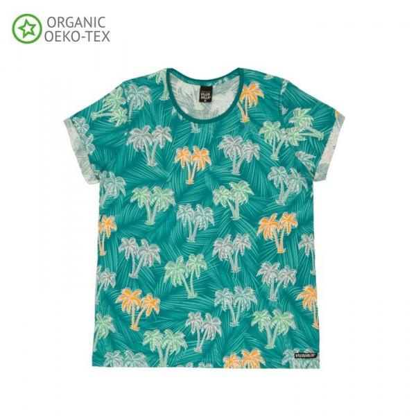 Villervalla Kurzarm T-shirt für Erwachsene lake