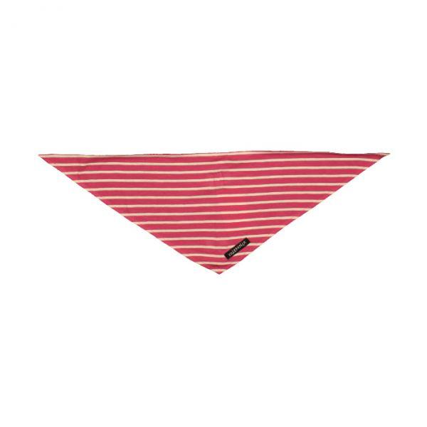 VILLERVALLA scarf RASPBERRY/MARBLE - Größe: one size