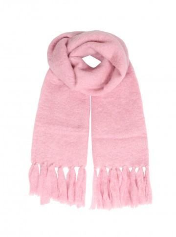 Zwillingsherz Schal rosa