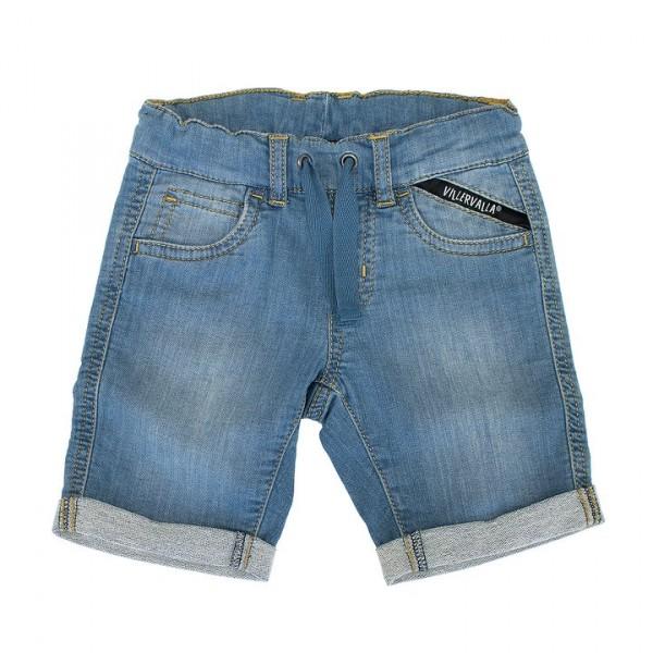 Villervalla Capri Shorts aus Sweat Denim