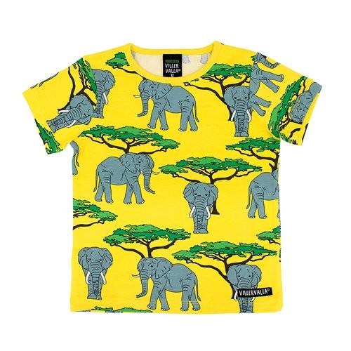Villervalla kurzärmliges Tshirt elephant