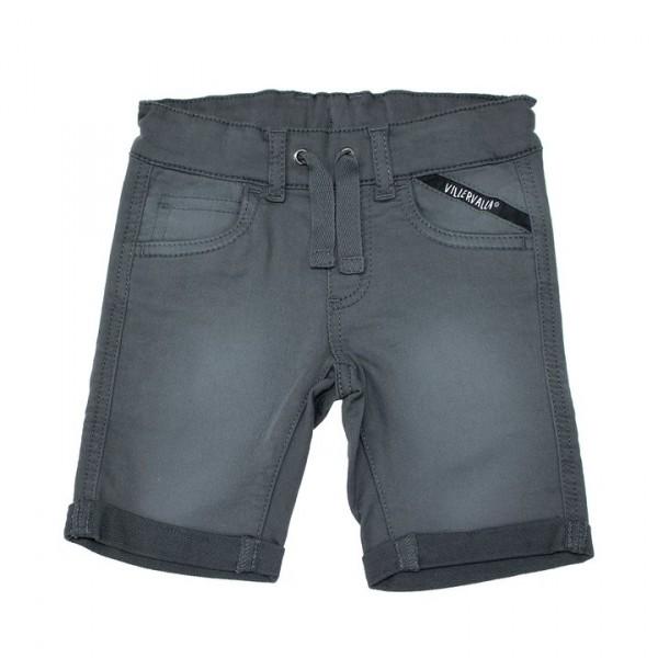 Villervalla Capri Shorts aus Sweat Twill storm