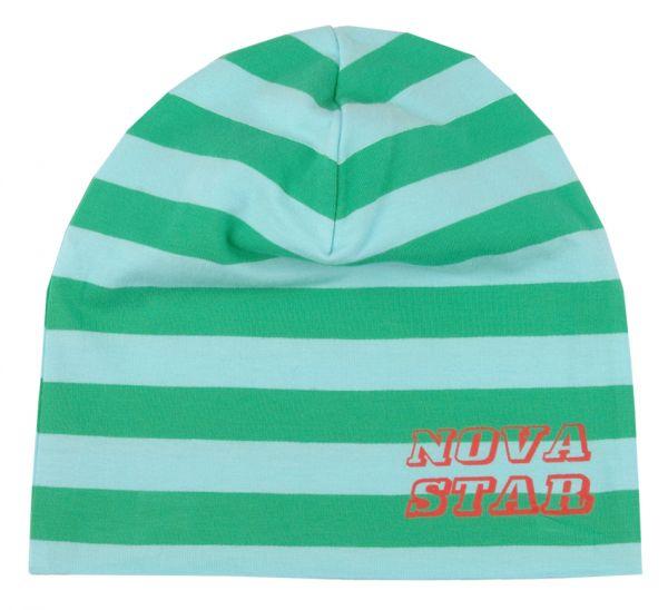NOVA STAR Striped Beanie Green