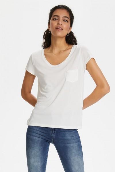 Soaked in luxury Columbine Tshirt broken white