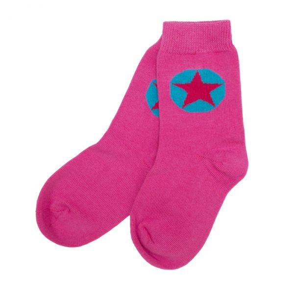 VILLERVALLA Socks Cranberry