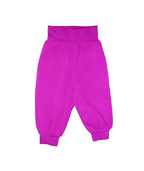 Snoozy Single Colour Baby Pants - Rose