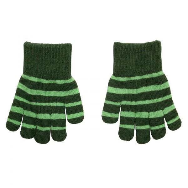 Villervalla gestrickter Fingerhandschuhe drk pine/lgt pine