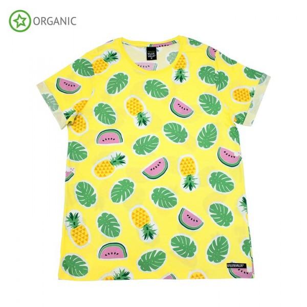 Villervalla Kurzarm Tshirt für Erwachsene lemonade