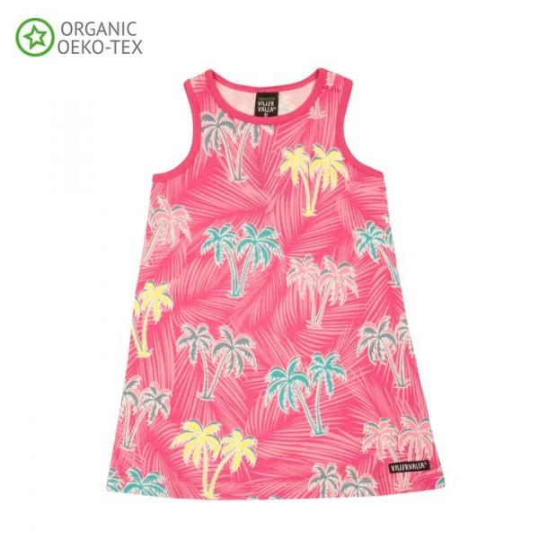 Villervalla Kurzarm Kleid flamingo