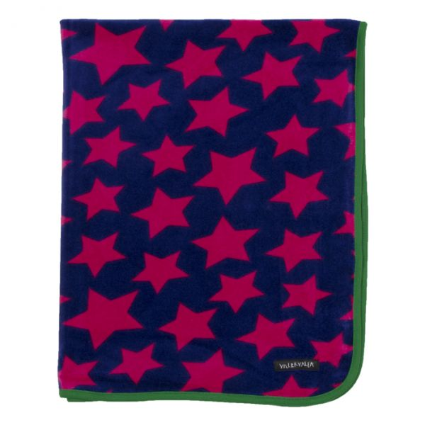 VILLERVALLA Blanket BLACKBERRY – one size
