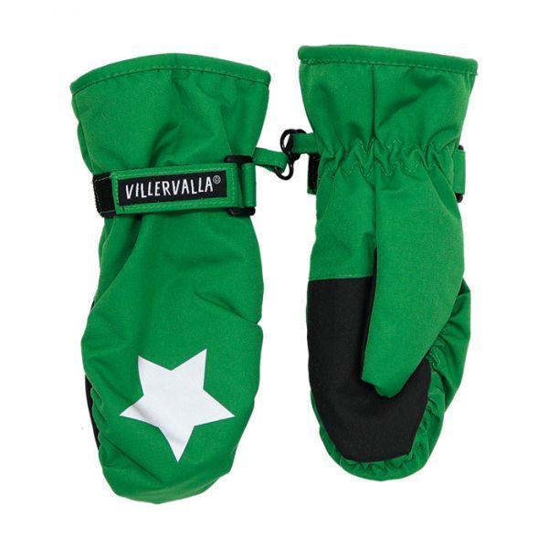 Villervalla Waterproof (8000mm) glove with fleece lining forest