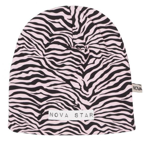 NOVA STAR Mütze zebra pink