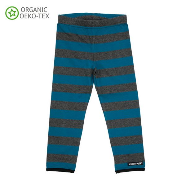 Villervalla Soft tricot leggings drk pacific
