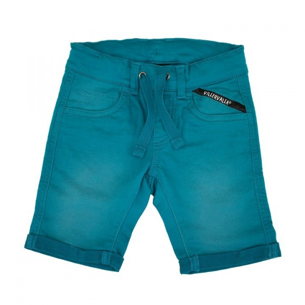 Villervalla Capri Shorts aus Sweat Twill atlantic
