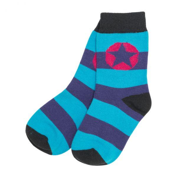 VILLERVALLA Socks Mulberry/Aqua