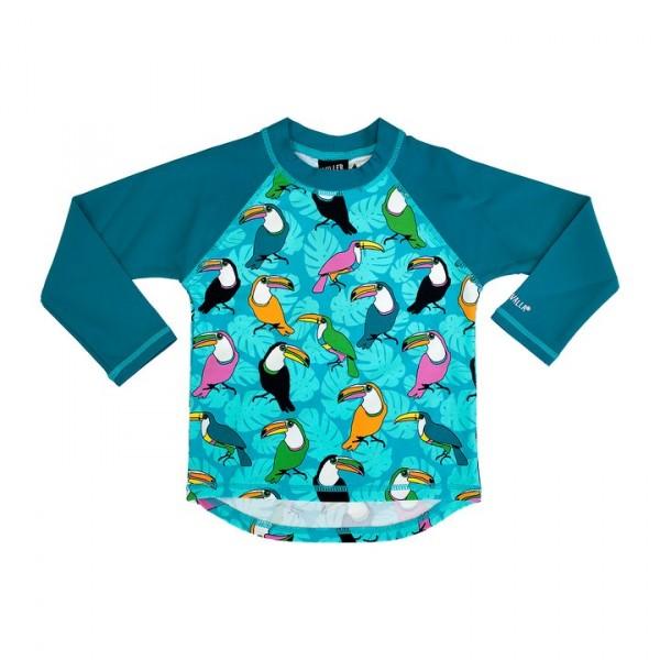 Villervalla UV-Shirt reef mit 50+ Schutz