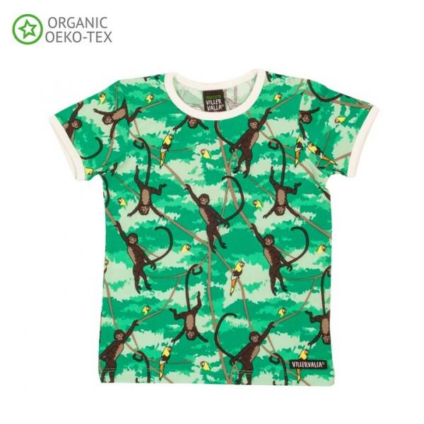 Villervalla Kurzarm T-shirt Affe