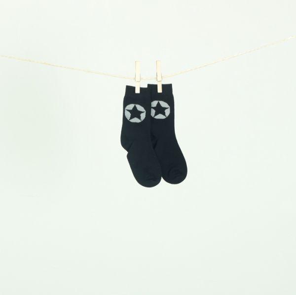 VILLERVALLA socks BLACK