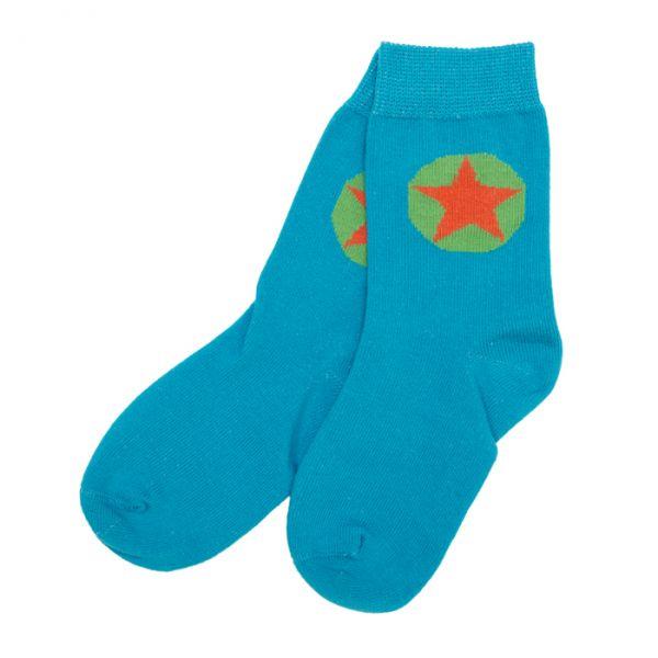 VILLERVALLA Socks Drk aqua