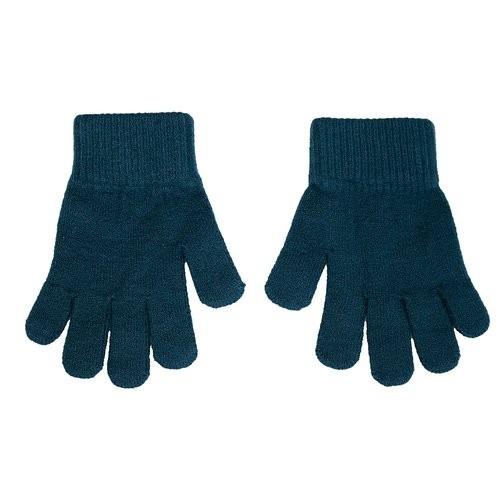 Villervalla gestrickter Fingerhandschuhe marine