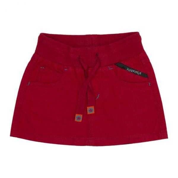 VILLERVALLA Twill Skirt CHILI