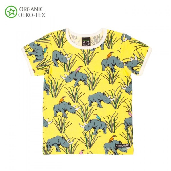 Villervalla Kurzarm T-shirt Nashorn