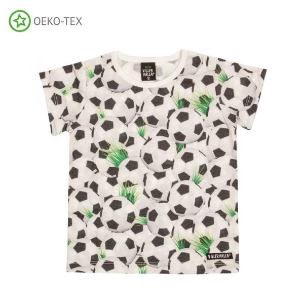 Villervalla Kurzarm T-shirt Fussball