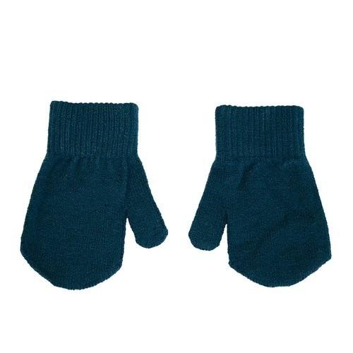 Villervalla gestrickter Handschuh mit Daumen marine Größe 1-3 Jahre