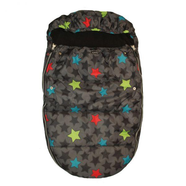 VILLERVALLA buggy bag STARS BLACK