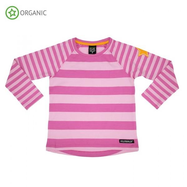 Villervalla langärmliges T-shirt petunia