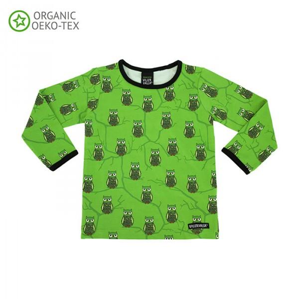 Villervalla Soft long sleeved tricot t-shirt avocado