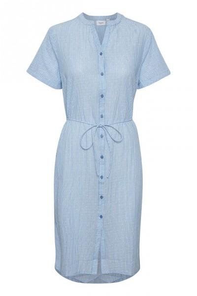 Saint Tropez Afia Kleid blau/weiß