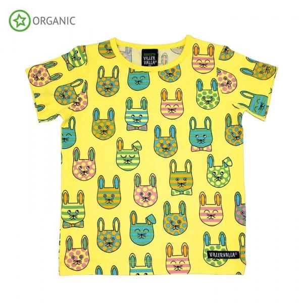 Villervalla Kurzarm Tshirt bunny